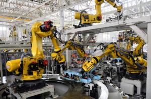 роботы работают