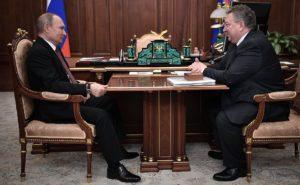 Встреча Путина с ректором Политеха